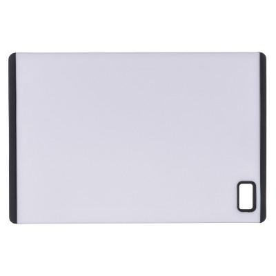 Kesper 30890 kitchen cutting board Rectangular Plastic Grey,White