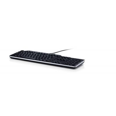 DELL KB522 keyboard USB QWERTY US International Black