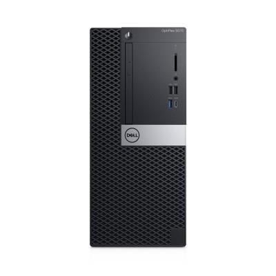 DELL OptiPlex 5070 9th gen Intel® Core™ i3 i3-9100 8 GB DDR4-SDRAM 1000 GB HDD Mini Tower Black PC Windows 10 Pro