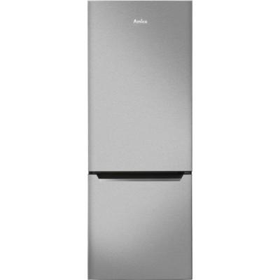 Amica FK244.4X fridge-freezer Freestanding Stainless steel