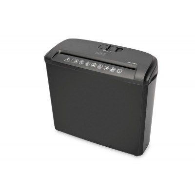 Digitus DA-81604 paper shredder Strip shredding 74 dB 21.8 cm Black