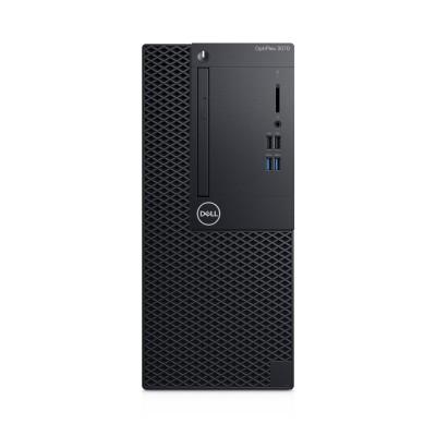 DELL OptiPlex 3070 9th gen Intel® Core™ i5 i5-9500 8 GB DDR4-SDRAM 1000 GB HDD Mini Tower Black PC Windows 10 Pro