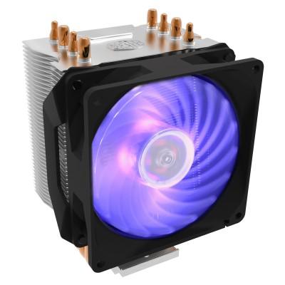 Cooler Master Hyper H410R RGB Processor 9.2 cm Black, Silver