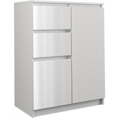 Topeshop 2D2S BIEL POŁ chest of drawers
