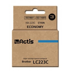 Actis KB-223C ink cartridge for Brother (LC223C compatible)