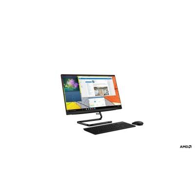 """Lenovo IdeaCentre 3 54.6 cm (21.5"""") 1920 x 1080 pixels AMD Athlon 8 GB DDR4-SDRAM 256 GB SSD Wi-Fi 5 (802.11ac) All-in-One PC Black"""