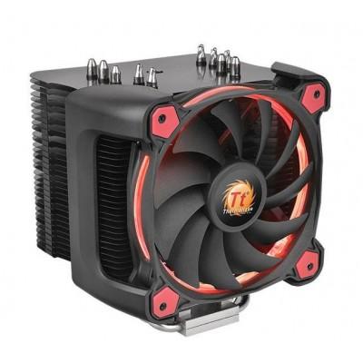 Thermaltake Riing Silent 12 Pro Processor Cooler 12 cm Black, Red
