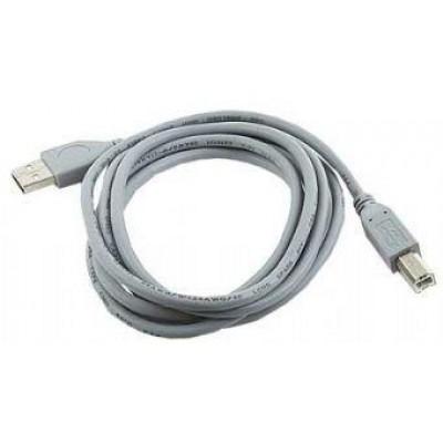 Gembird 1.8m USB 2.0 A/B M USB cable USB A USB B Gray