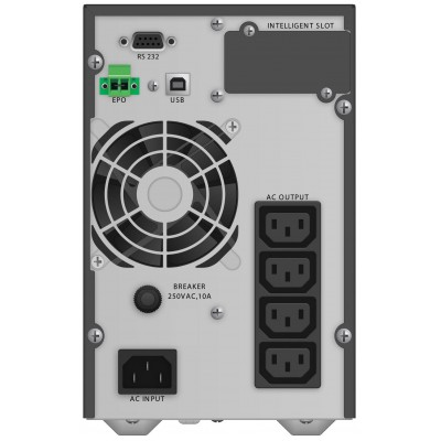 PowerWalker VFI 1000 TG uninterruptible power supply (UPS) Double-conversion (Online) 1000 VA 900 W 4 AC outlet(s)