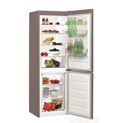 Indesit LR7 S2 X fridge-freezer Freestanding 307 L Stainless steel