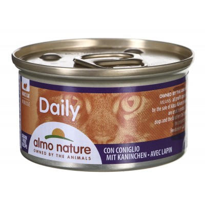 ALMO NATURE Daily Menu Mousse with a rabbit 85 g