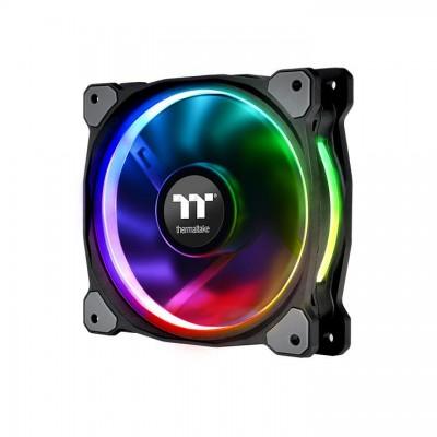 Thermaltake CL-F076-PL12SW-A computer cooling component Computer case Fan 12 cm Black