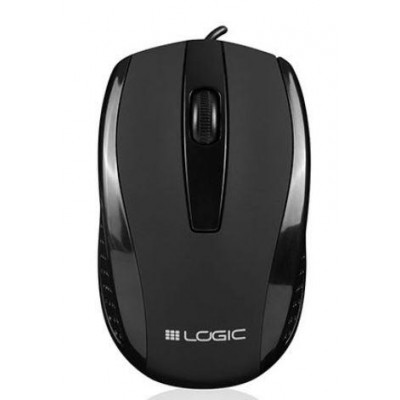 Wired optical mouse LOGIC LM-31 black