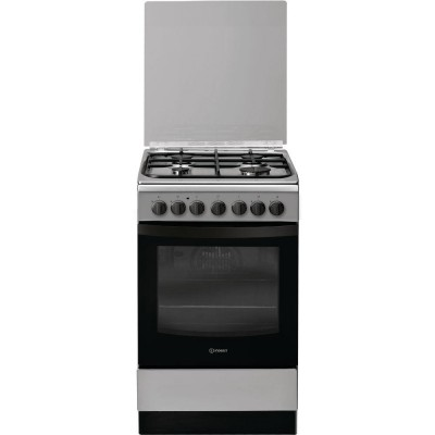 Indesit IS5G5PHX/E Freestanding cooker Black,Grey Gas A