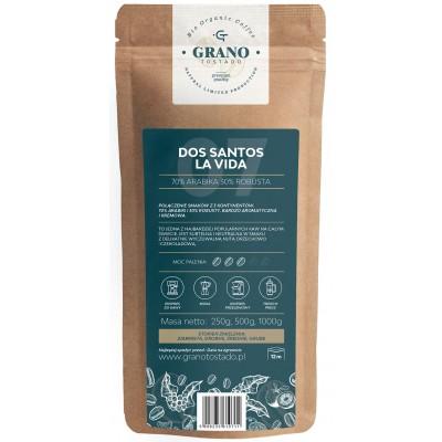 Fine Ground Coffee Grano Tostado DOS SANTOS LA VIDA 500 g