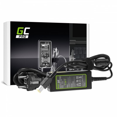 Green Cell AD64P power adapter/inverter Indoor 45 W Black