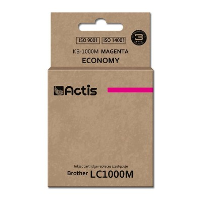 Actis KB-1000M ink cartridge for Brother LC1000/LC970 magenta