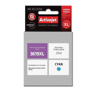 Activejet AB-3619CNX ink for Brother LC3619CXL