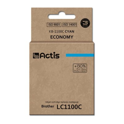 Actis KB-1100C ink cartridge for Brother printer LC1100/LC980 cyan
