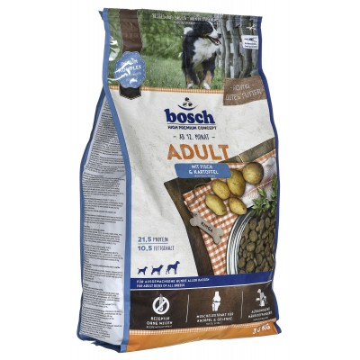 Bosch 04030  Fisch & Potato food for adult dogs 3 kg