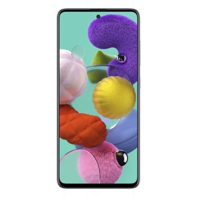 "Samsung Galaxy A51 SM-A515F 16.5 cm (6.5"") 4 GB 128 GB Dual SIM 4G USB Type-C White 4000 mAh"