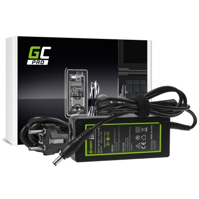 Green Cell AD20P power adapter/inverter Indoor 60 W Black