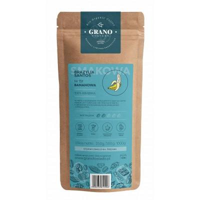 Grano Tostado Banana Coffee, medium ground 500 g