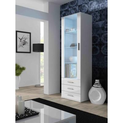 Cama display cabinet SOHO S1 white/white gloss