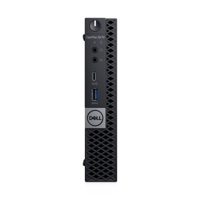 DELL OptiPlex 5070 9th gen Intel® Core™ i5 i5-9500T 8 GB DDR4-SDRAM 256 GB SSD MFF Black Mini PC Windows 10 Pro