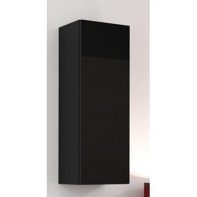 "Cama Cabinet VIGO ""90"" full 90/35/32 black/black gloss"