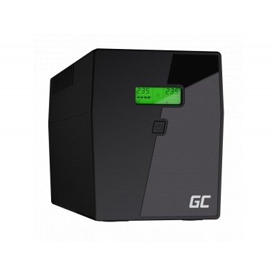 Green Cell UPS04 uninterruptible power supply (UPS) Line-Interactive 1999 VA 900 W 5 AC outlet(s)