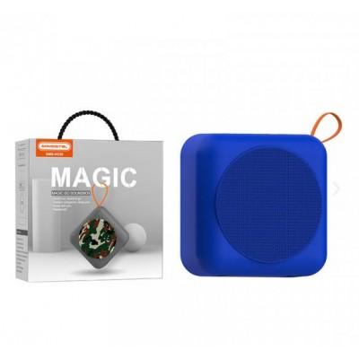 BLUETOOTH SPEAKER SOMOSTEL MAGIC H230 NAVY BLUE 5W - USB + MEMORY CARD READER - WATER RESISTANT
