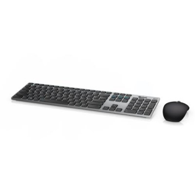 DELL 580-AFQE keyboard RF Wireless + Bluetooth QWERTY US International Black