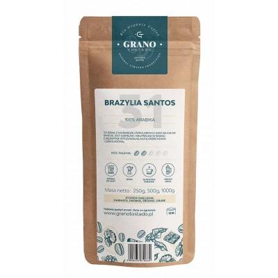 Grano Tostado Brazylia Santos coffee beans 1 kg