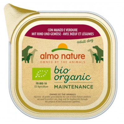 ALMO NATURE Daily Menu Bio Organic Beef with vegetables 100 g