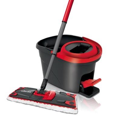 Vileda 140827 mopping system/bucket Single tank Black,Red