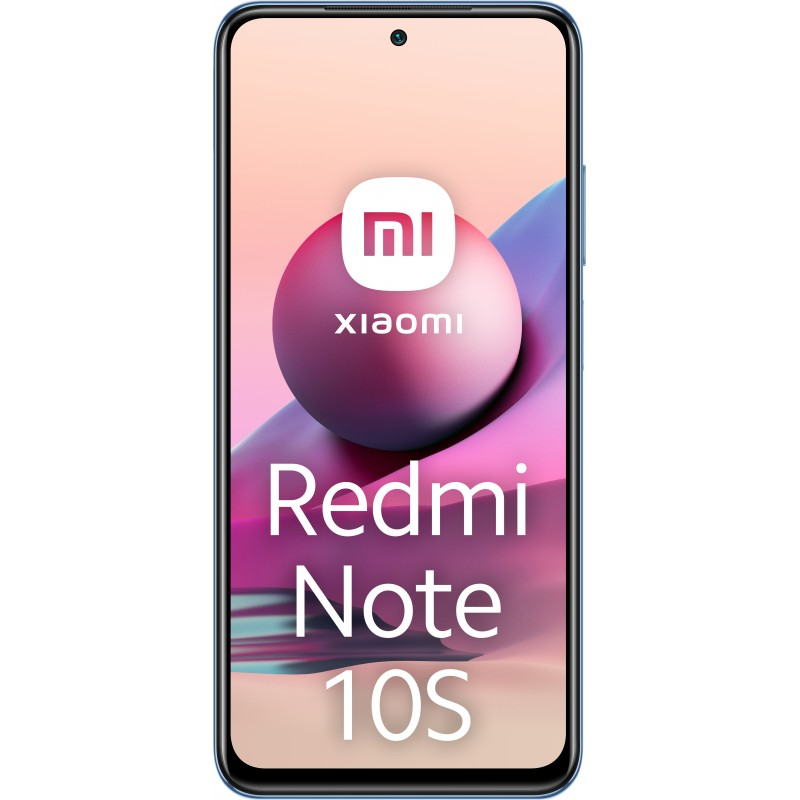 "Xiaomi Redmi Note 10S 16.3 cm (6.43"") Dual SIM MIUI 12.5 4G USB Type-C 6 GB 64 GB 5000 mAh Blue"