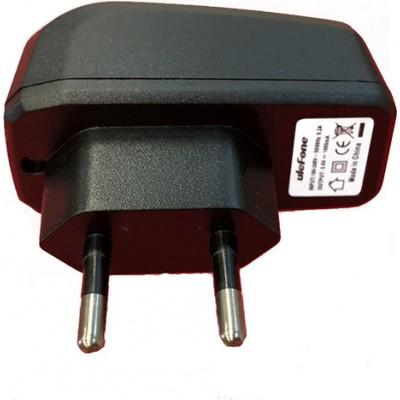 Ulefone 2 Pin Charger (5V,1A) Black
